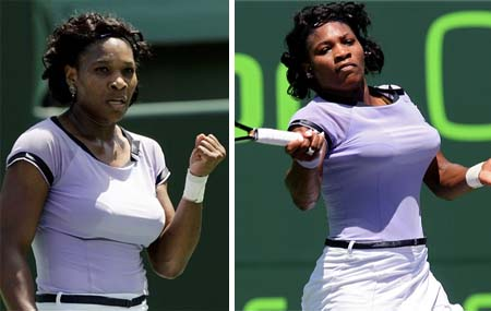 Serena Williams - Sony Ericsson Open 2008