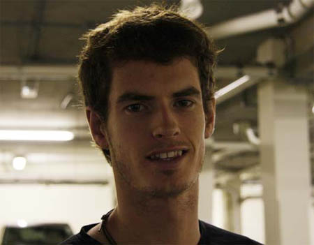 Andy Murray haircut