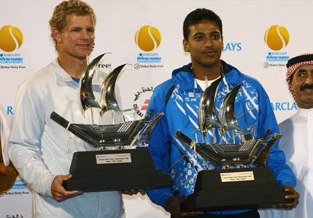 Mark Knowles, Mahesh Bhupathi, Dubai 2008