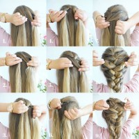 How To French Braid Step By Step With Pictures | www ...