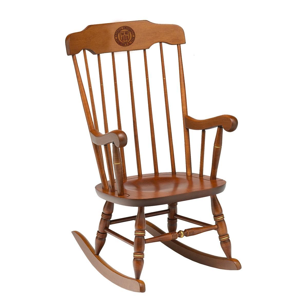 Wood Rocking Chair Boston All Cherry Wood Rocking Chair