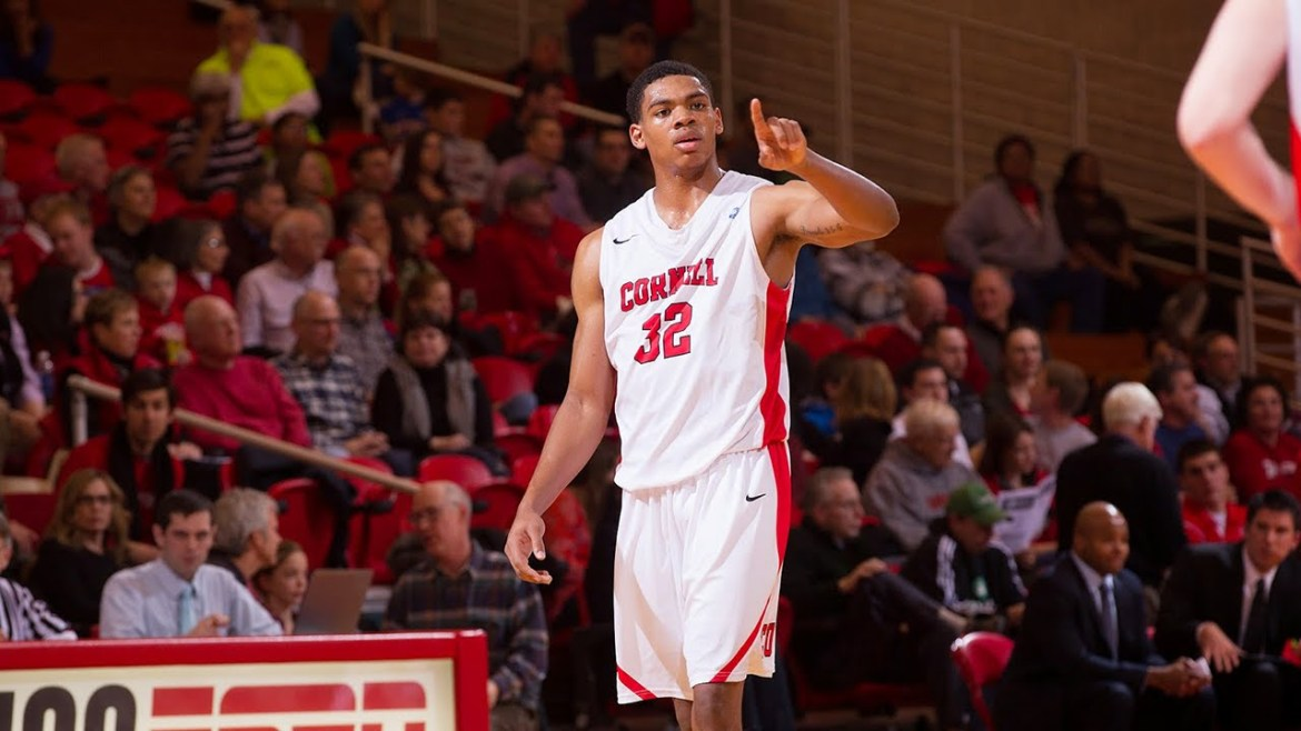 Shonn Miller '15 transferred to the University of Connecticut after graduating from Cornell due to the eligibility rules of the Ivy League.