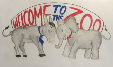 Welcome To The Zoo Logo - color