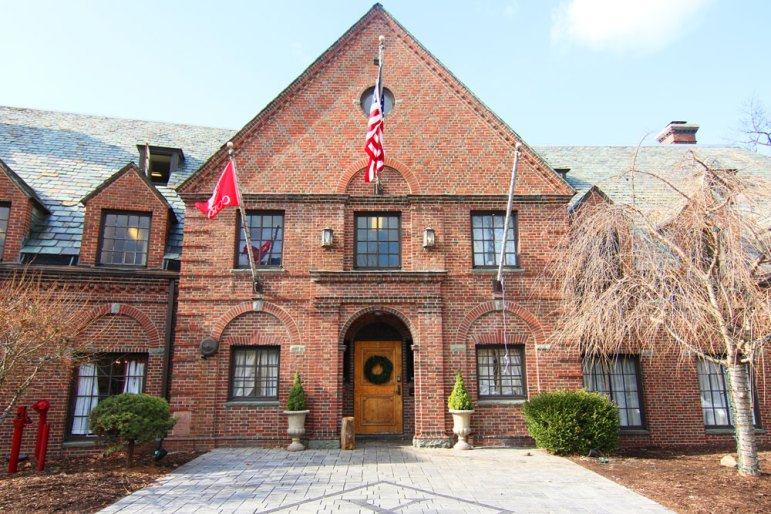 The Psi Upsilon fraternity house, located at 2 Forest Park Lane on West Campus, was the site of an alleged sexual assault last Sunday.