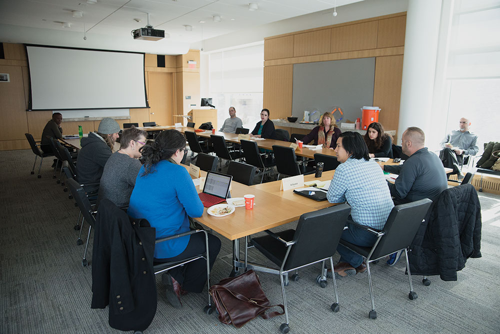 The Employee Assembly discusses its level of influence in University policy  Wednesday.