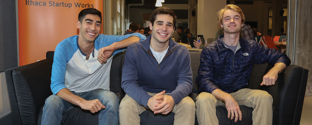 RedRoute, founded by three Cornell students, aims to help connect college students with local cab companies.