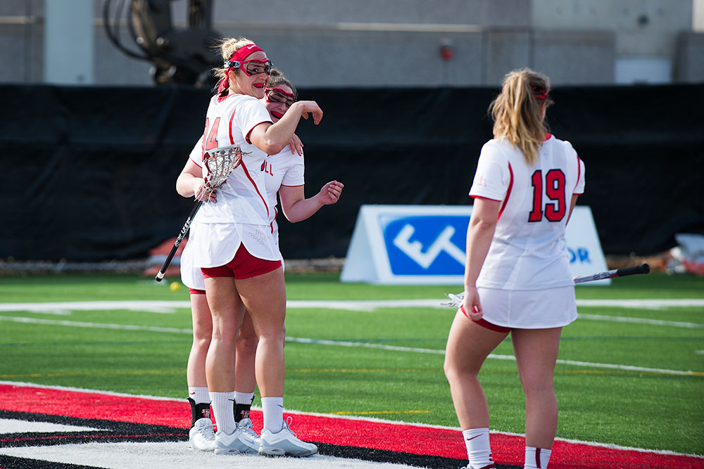 Senior forward Olivia Mattyasovszky led Cornell to its fifth straight win this season, keeping the team's undefeated season intact.