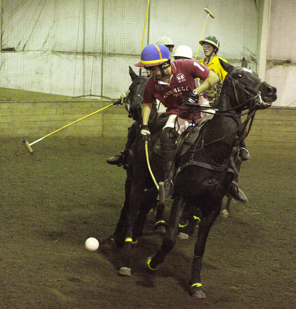 Senior Anna Winslow and junior Ignacio Masias aim to power the polo teams to Nationals on April 7.