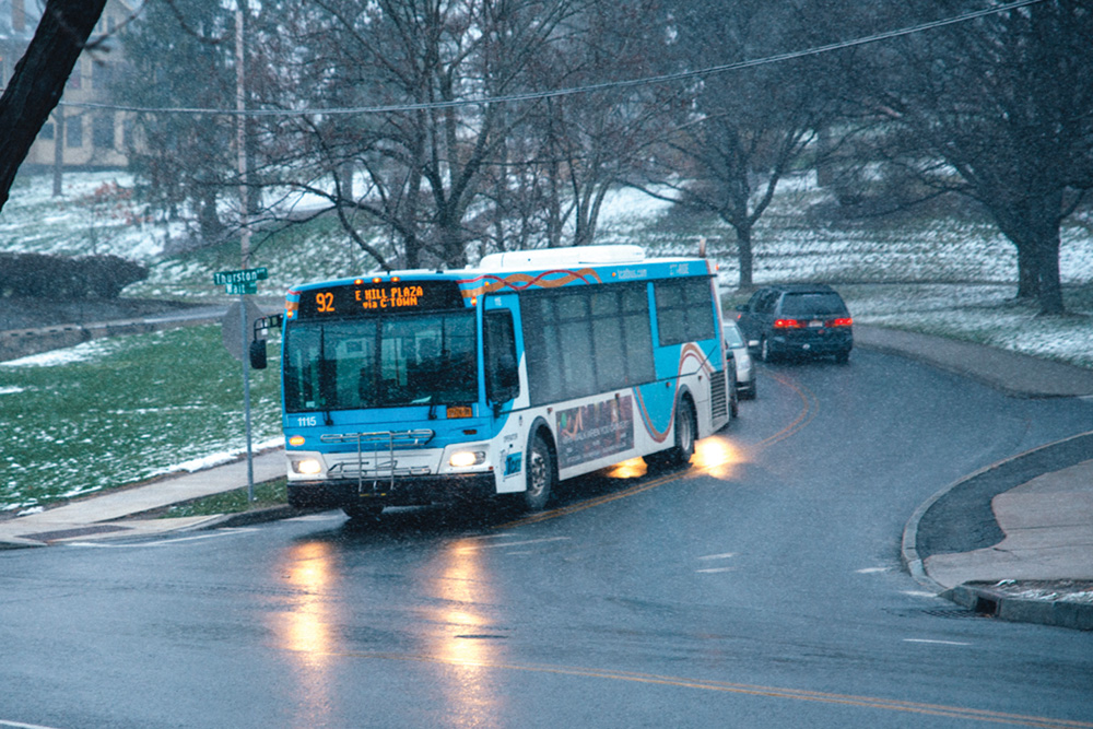 The TCAT is considering reducing services on approximately 21 routes this summer.