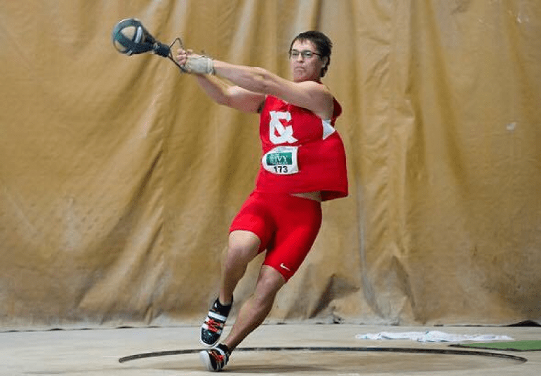 Winkler '17 was able to put himself on the board, but could not qualify for the medal round.