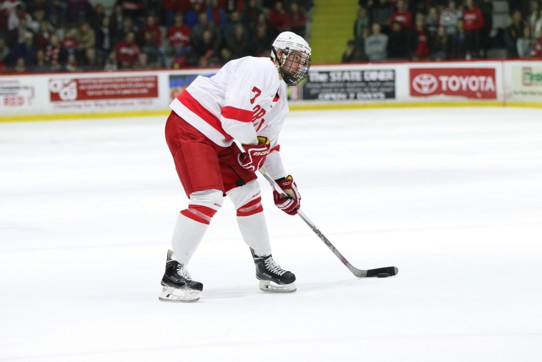 Senior forward Jake Weidner has been selected as the men's hockey captain for the 2016-17 season.