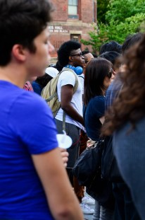 Students at Thursday's vigil expressed concerns about safety on Cornell's campus.