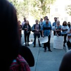 Cornell Graduate Students United say President Rawlings misrepresented information about their unionization campaign.