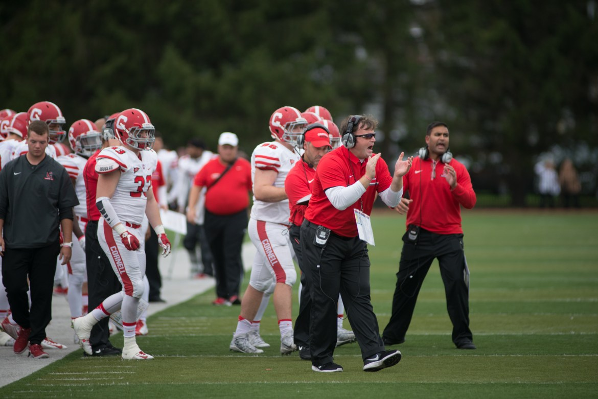 Despite a three-game winning streak to start the season, Cornell football lost its third straight game in a wet match-up against Brown.