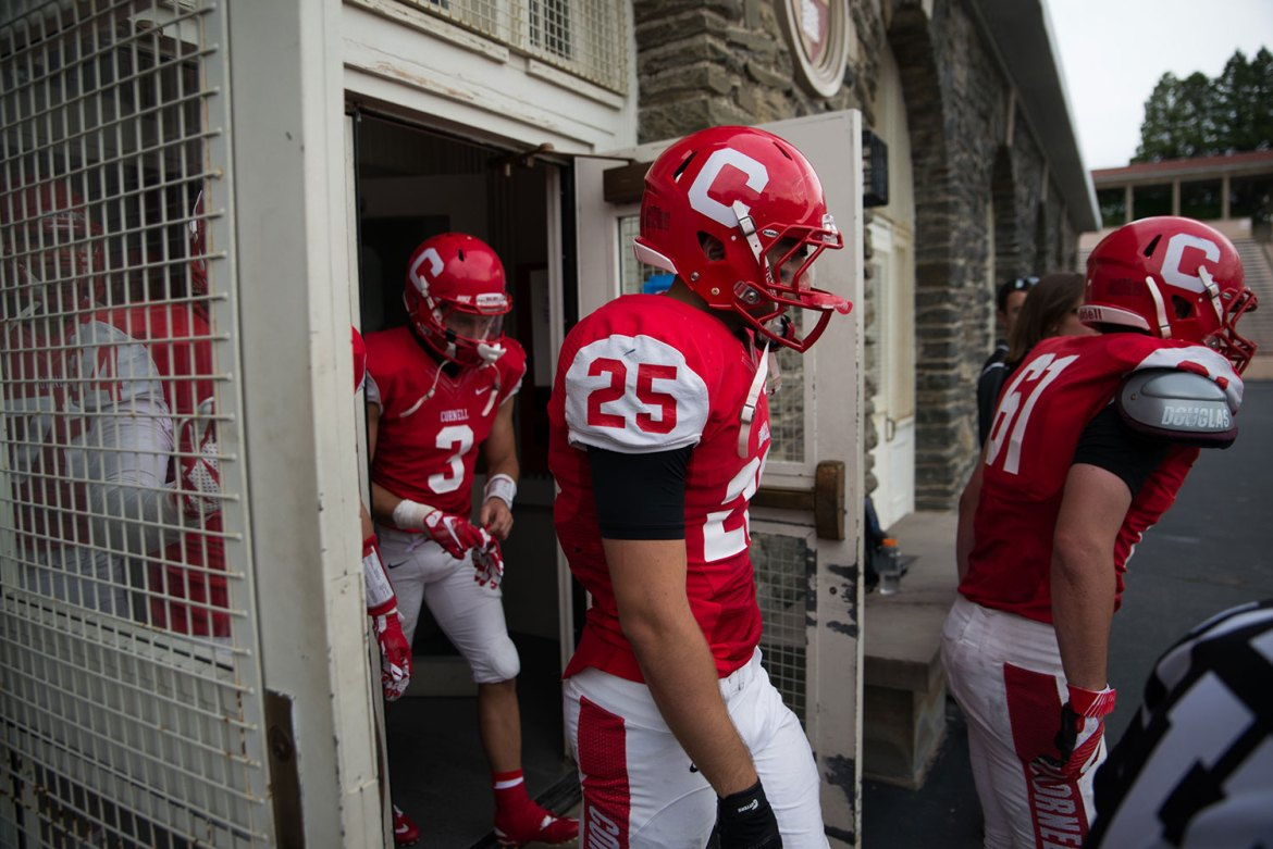 The return of senior running back Kevin Nathan from injury wasn't enough for the Red to top Penn.