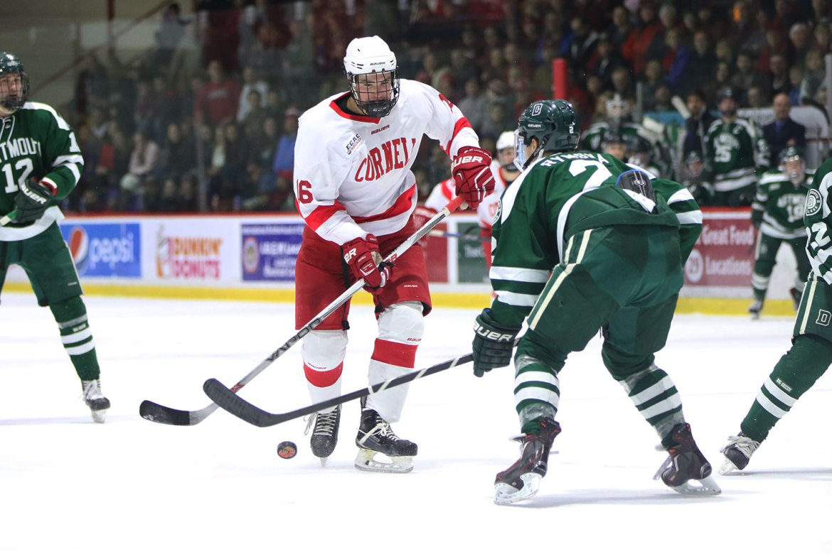 Despite senior forward Matt Buckles' goal, Cornell men's hockey lost its first game of the season.