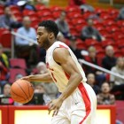 After seeing a total of 10 minutes of playing time in the first three games of the season, senior guard Darryl Smith has averaged 15 minutes in the past two games.