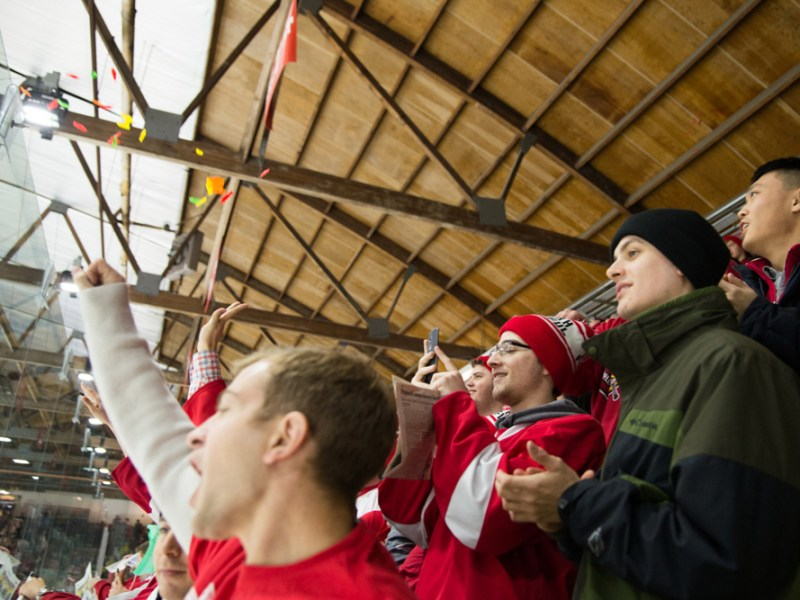 For decades, fish and Lynah Rink have been a common combo, but not everyone is quite as enthusiastic about the tradition.