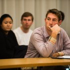 University Assembly voted to remove Mitch McBride from his position as Chair of the Codes and Judicial Committee at a meeting on Tuesday.