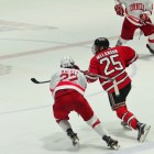 #22 Jeff Malott and #8 Yanni Kaldis vs. RPI 02/24/17.