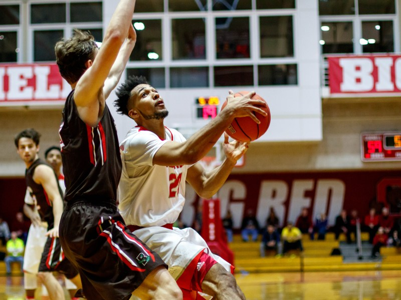 The Red will have to manage Harvard's tall lineup, with several players over 6-foot-10.
