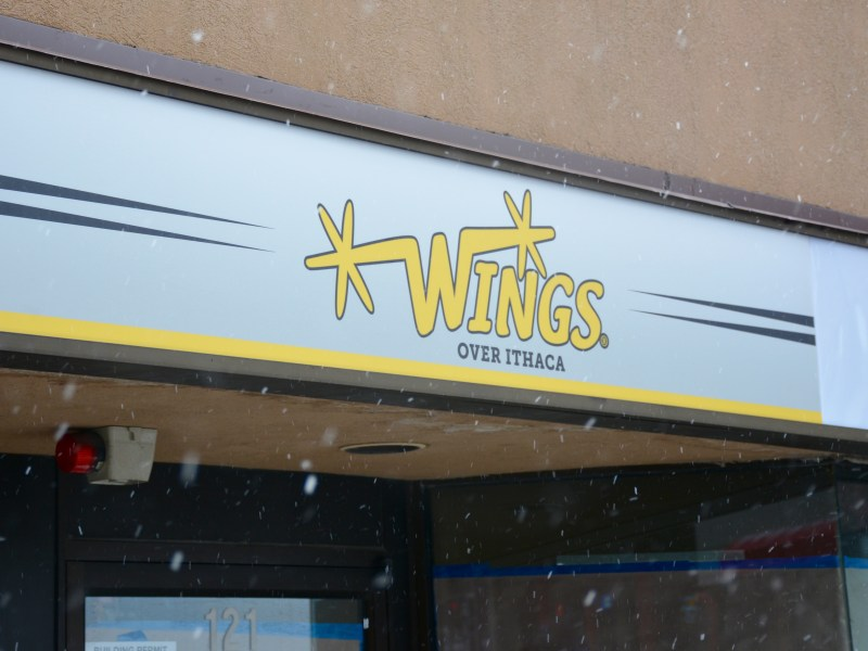 The Wings Over Ithaca location at 121 Dryden Rd. in Collegetown.