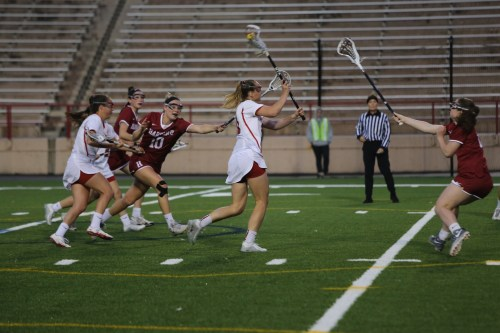 Senior captain Kritsy Gilbert had tow goals on the night on four shots.