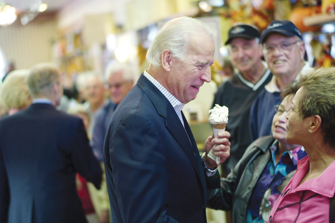 Joe Biden has many times proclaimed his love or ice cream, and he may get his own flavor if Cornell Dairy's efforts prove successful.