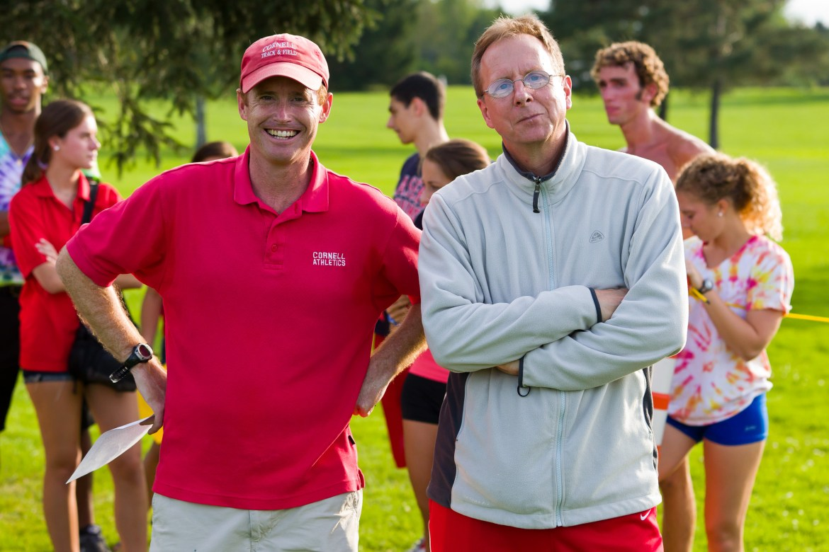 Artie Smith '96 and Rich Bowman have switched roles and will look to continue Cornell's excellence with a new relationship.