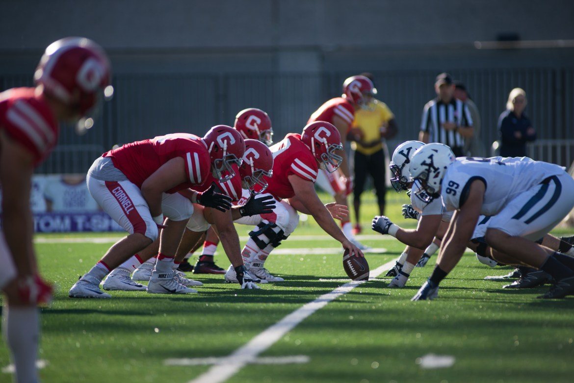 The offensive line could be make-or-break for Cornell in 2017.