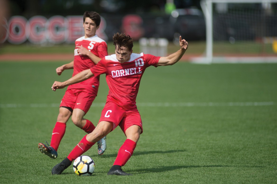Cornell notched its first win of the season this weekend over Lafayette.