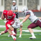 After Colgate sacked junior quarterback Dalton Banks eight times last week, the Red must get the ball out quicker if it hopes to defeat Harvard.