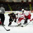 Men's Hockey Cornell  vs Princeton, 19 November 2016. (Aubrey Akers/Sun Photographer)