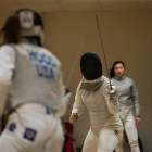Cornell fencing gets back at it this weekend in Ohio.