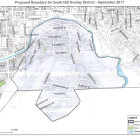 The proposed South Hill overlay district was first introduced in the September meeting of the Common Council.