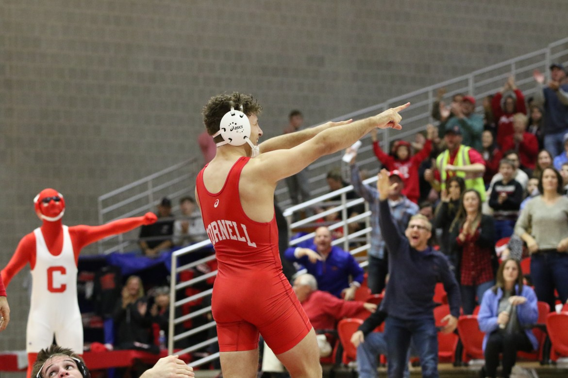 Will Koll posted a strong performance after beating No. 19 Cortlandt Schuyler this weekend.