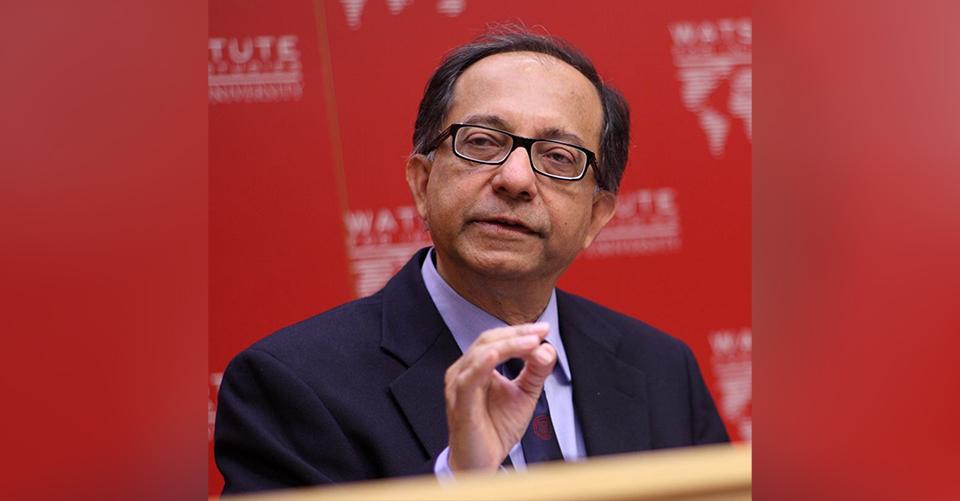 Prof. Kaushik Basu spoke about the future of India's economy.