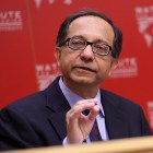 Prof. Kaushik Basu spoke about the future of India's economy.