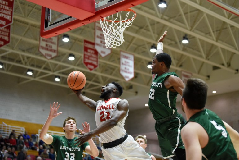 Building off of its win over Columbia, Cornell pulled off another one-point victory on Friday, defeating Dartmouth 86-85.
