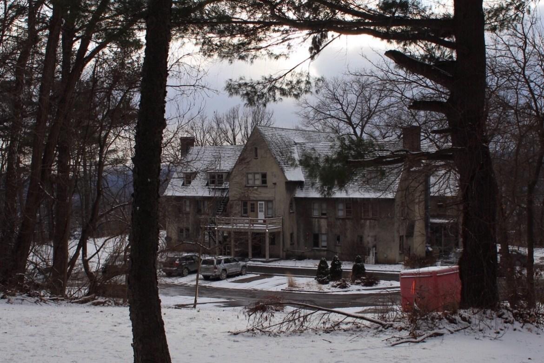 The Zeta Beta Tau fraternity house on North Campus. Katie Sims/ Sun Staff Photographer