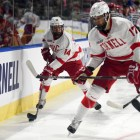 B.U. ended Cornell's season Saturday, beating the Red in the first round of the NCAA tournament.