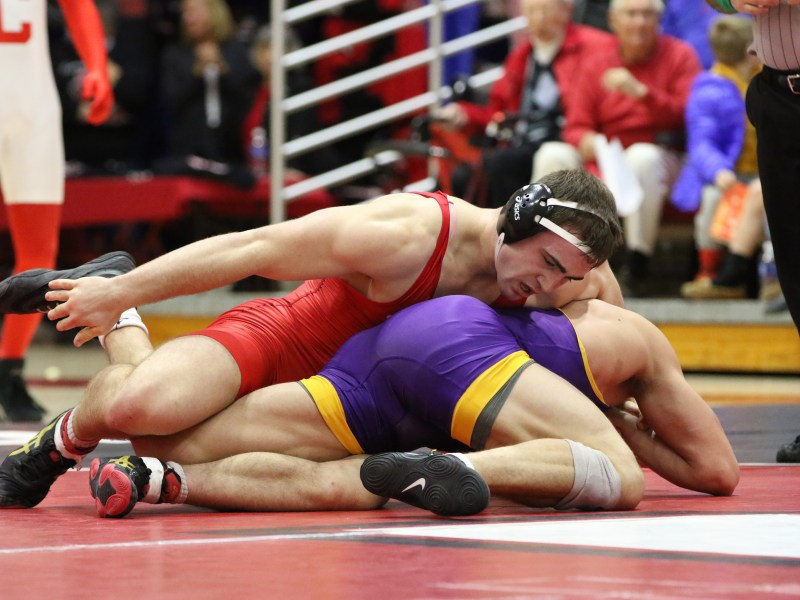 Freshman Max Dean defeated Drew Foster yet again on Thursday in Cleveland.