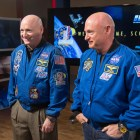 "The Kelly brothers, whose genes were compared in NASA's ""Twins Study"" after Scott, left, spent two years in space."