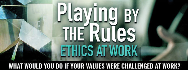 WCNY, Central New York's public broadcaster, sponsored a preview of the new PBS series Playing By the Rules: Ethics at Work, which covers the 2001 Enron Scandal.