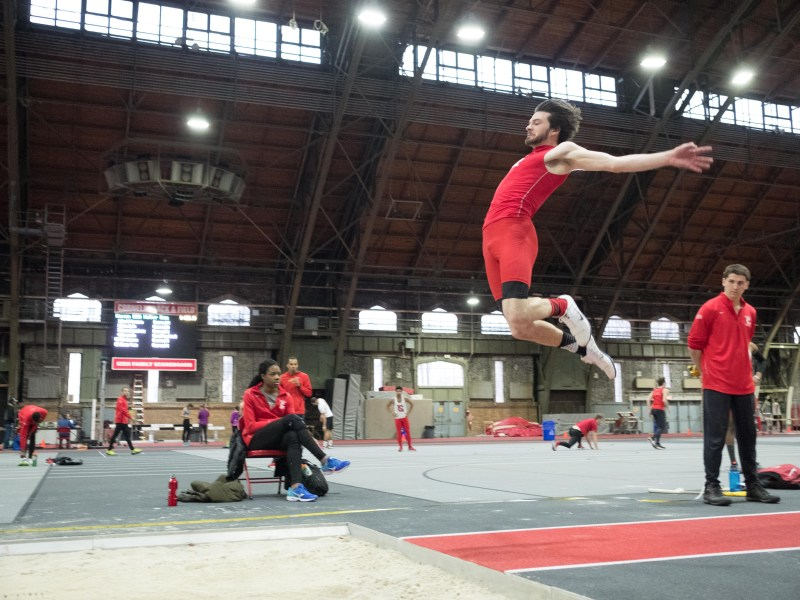 Jumpers played an important role in the success of track and field over the past week, with senior Oseoba Airewele and senior Alex Rodriguez claiming first in triple jump and long jump, respectively.