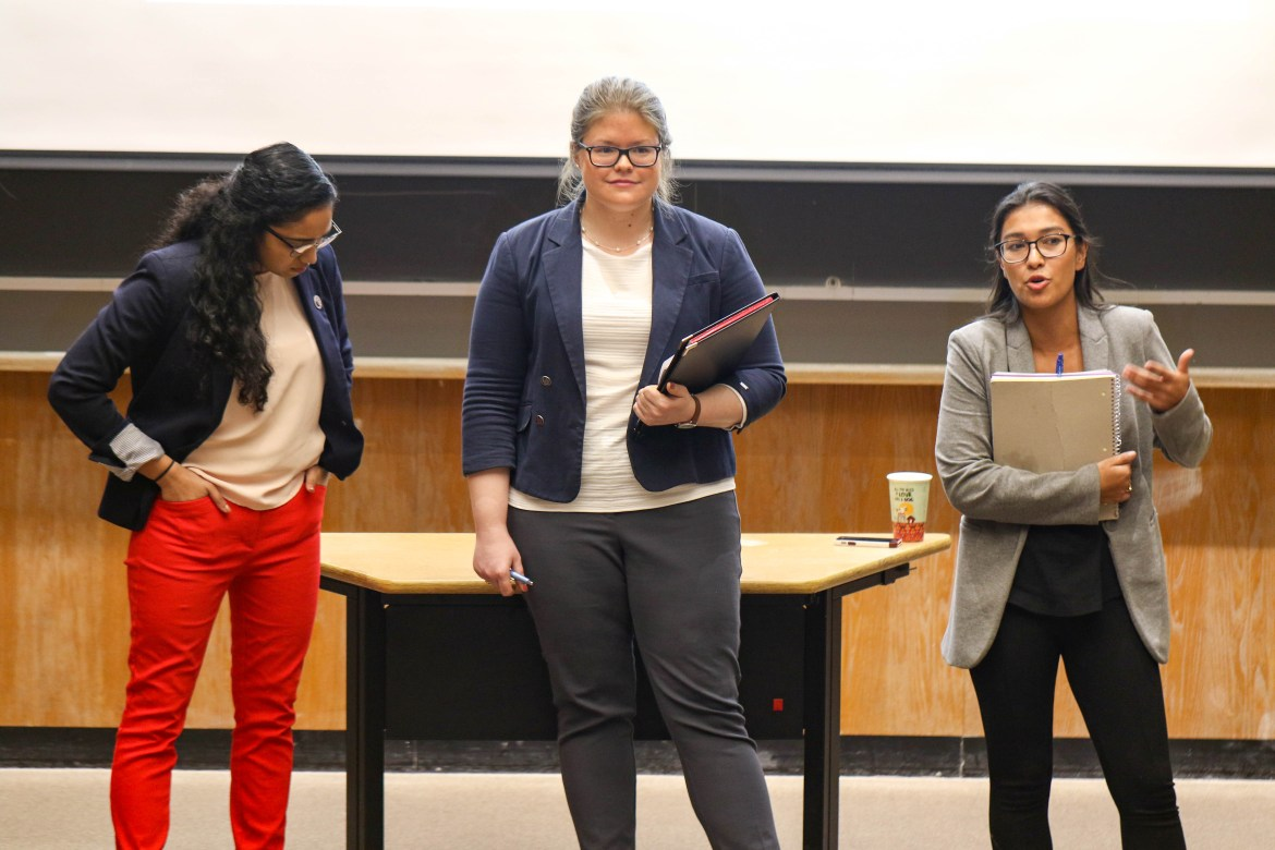 Candidates running for graduate and professional student trustee presented their vision for Cornell in a debate on Monday.