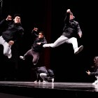 BreakFree Hip Hop performs at Bailey Hall on Friday night.