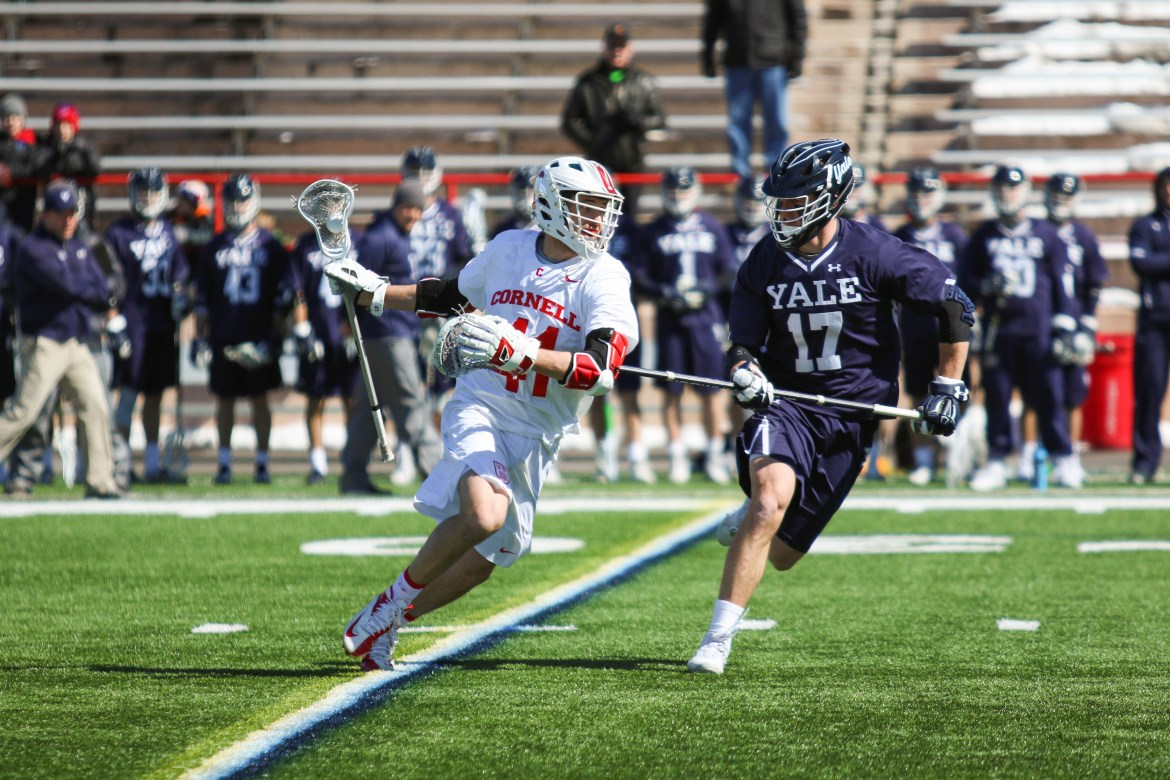 The Red lost to Yale by 2 goals earlier this season.