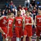 Men's basketball game vs. Harvard on March 10th, 2018. (Boris Tsang/Sun Assistant Photography Editor)