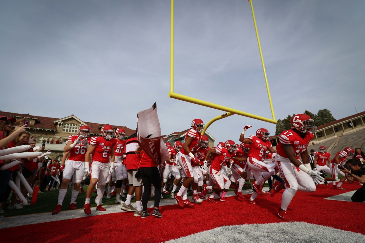 Cornell starts its season Saturday at Delaware.